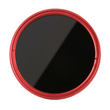 FOTGA 46mm Fader Variable ND Filter Neutral Density Graufilter ND2 ND8 ND400 Red
