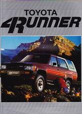 1986 TOYOTA 4RUNNER N60 Australian 6p Brochure  HILUX SURF