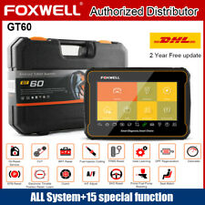 FOXWELL GT60 OBD2 Automotive All Systems Diagnostic Scanner Scanpad DPF TPMS SRS