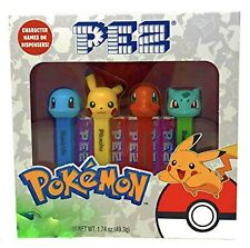 PEZ Pokemon Candy and Dispensers Gift Set – Pikachu Charmander Bulbasaur Squi