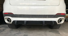 For BMW X6 F16 Rear Bumper splitter Performance diffuser diffuzer valance skirt