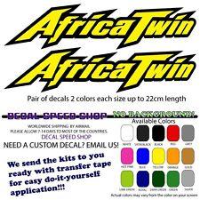 Africa Twin XRV logo Decals x2