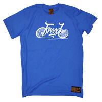 Cycling T-Shirt Funny Novelty Mens tee TShirt - Freedom