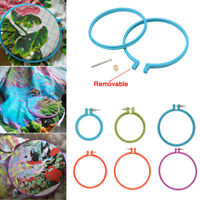 Plastic Cross Stitch Machine Embroidery Hoop Ring Sewing Tool 3-10 inch Hot