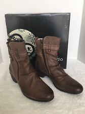 NIB Blondo Womens Farima Leather Ankle Boots 6 Medium (B,M) MSRP $200