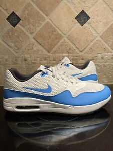 Nike Air Max 1 Golf White University Blue UNC BRAND NEW Size 10.5