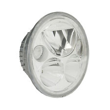 Vision X 7in. Single Chrome Round Vortex LED Headlight With Halo - XMC-7RD