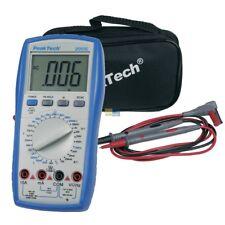 Digitalmultimeter Profi Prüfer Messgerät mit CAT III LCD-Anzeige PeakTech PT2005