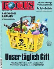 FOCUS Magazin - Heft 38/2018: Unser täglich Gift +++ wie neu +++
