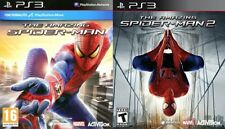 the amazing spiderman & the amazing spider-man 2    ps3  pal region 2