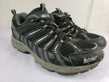 Denali Mens Hiking Trail Shoes Sz 10 M EU 44 Black Synthetic Mesh GUC Sz 10