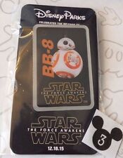 BB-8 Star Wars The Force Awakens 12-18-15 Opening Day Promo Disney Pin New