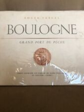 'Boulogne Grand Port De Peche' Illustrations Mathurin Meheut; France; Ltd Ed!