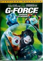 G-FORCE  - SUPERSPIE IN MISSIONE (2009) di Hoyt Yeatman DVD EX NOLEGGIO - DISNEY