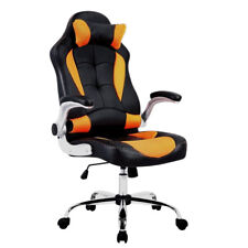 Drehstuhl Bürostuhl Chefsessel Racingstuhl Schreibtischstuhl Sportsitz Orange