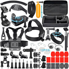 50-in-1 Outdoor Sport Camera Accessory Kit for GoPro Hero 3+ 4 5 2 Bundle Camera