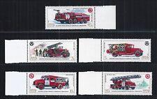 USSR 1985 MiNr: 5559 - 5563 ** CAR DEPARTMENT FIRE TRUCK