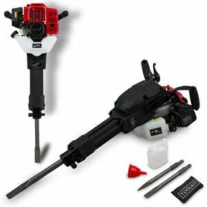 BITUXX Benzin Abbruchhammer 2,5PS Schlaghammer Vorschlaghammer Stemmhammer