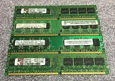 4GB Kit (4 x 1GB) Major Brands DDR-2 Desktop RAM Memory DIMMs *Tested*
