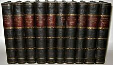 LEATHER Set;Thomas MOORE Works!1840 RARE!byron shelley poetry FIRST EDITION gift