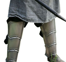 Steel Greaves - Pair Of Greaves - Leg Armor - Larp Armor - Fantasy Arm