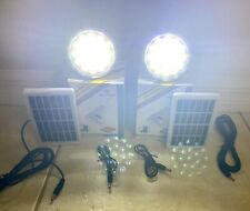 2 Solar and USB Rechargeable Led Light.