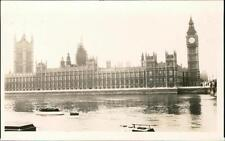 Houses of Parliament from Embankment 1930 Nigel Beaumont-Thomas photograph  QR83