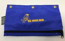 Trager Colorado Buffaloes CU Zipper Pouch Pencil Pen Holder Buffs 3 Ring Binder