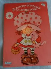 New Kenner Strawberry Shortcake Coloring Book Vintage 1981 New Old Stock Rare
