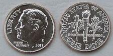 USA Dime 10 Cents 2017 D unz.