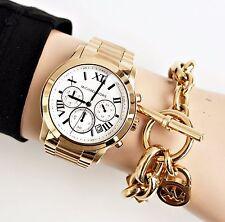 Original Michael Kors Uhr Damenuhr MK5916 Cooper Chronograph in Farbe: GOLD  NEU