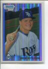 2010 Bowman Chrome Draft Refractor Drew Vettleson #BDPP59 Tampa Bay Rays