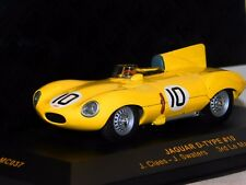 JAGUAR D TYPE #10 SWATERS/CLAES 3rd WINNER LE MANS 1955 IXO LMC037 1/43