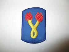 b8204 US Army Vietnam SF 196 Inf Brigade LRRP Long Range Recon Patrol blue IR38B