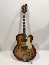 Rare guitare électrique ROYAL manche métal JACOBACCI Vintage An 60's