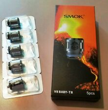 SMOK TFV8 Replacement Coils 5X Baby Beast V8-T8 -FREE Same Day USA Ship-A+Seller