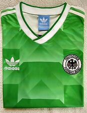 1990 West Germany Away Retro soccer football shirt jersey Kit-M