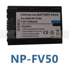 Battery for Sony NPFV50 NP-FV40 DCR-SR68E/S  HandyCam DCR-SX41 DCR-SX44