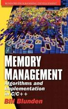 Memory Management Algorithms And Implementation In C/C++ (Windows