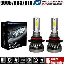 New listing Pair Mini Hb3 9005 Led Headlight Bulb Kit 70W 22000Lm Xenon 6000K White Foglight