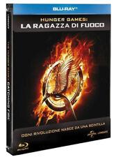 HUNGER GAMES: La Ragazza di Fuoco (BLU-RAY) COFANETTO EDIZIONE STEELBOOK