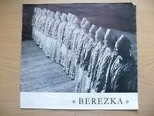 Programme 1954/55- BEREZKA