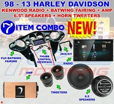 95-HDIF 98-13 FLH BATWING + KENWOOD DMX125BT + MSPRO65 + MSPRO1ST + MICRO4V2 NEW