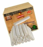 "Medium 6"" 22 Count Dog Retriever Rolls Natural Flavor Rawhide Chews Dog Bone Bi"