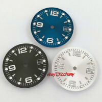 31.5mm sterile watch Dial Fit ETA 2836/2824 DG2813/3804 Miyota 8215 821A 8205