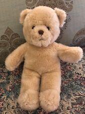 """Build A Bear Workshop 14"""" Tan Teddy Bear Plush Cute #Q9"""