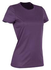 T-shirt, maglie e camicie da donna a manica corta in poliestere Taglia 44