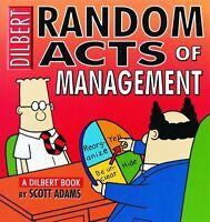 Random Acts Of Management:A Dilbert Book by Scott Adams