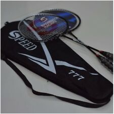 High Quality Brand New 2 X Speed 777 Branded Badminton Rackets with Bag 3 Colour