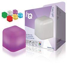 HQ LED Cube Mood Table Lamp OUTSIDE INSIDE IP44 White/RGB MODEL-HQSLEDTLAMP